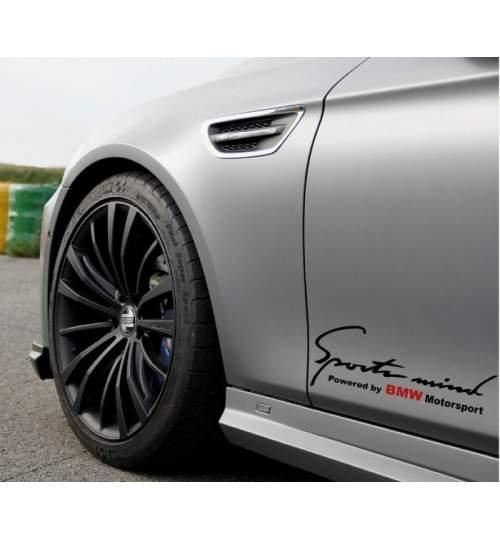 Sticker Sports Mind BMW (pret pe bucata) ManiaStiker