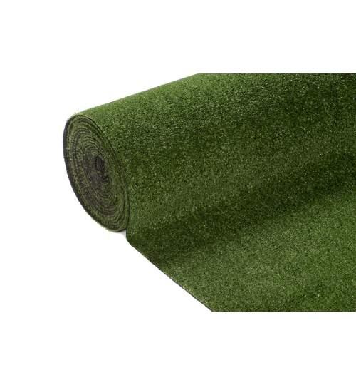 Covor Iarba Artificiala tip Gazon Artificial Green A6, Grosime 6mm, Rola 200x100cm