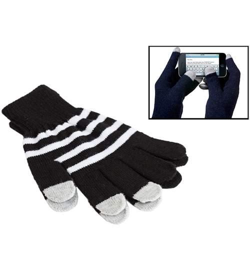 Set de manusi pentru iarna cu functie touchscreen, Marime Universala