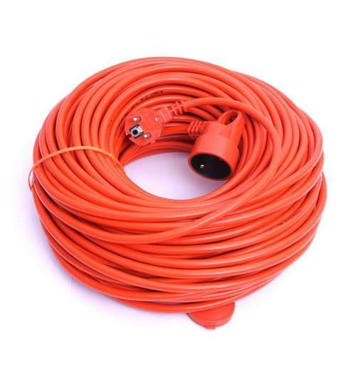 Cablu Prelungitor cu Stecher si Priza cu Impamantare si Protectie, Lungime 50m