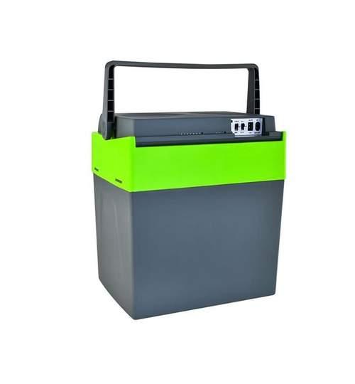 Lada frigorifica auto cu functie de incalzire si racire capacitate 30L 12V/220V