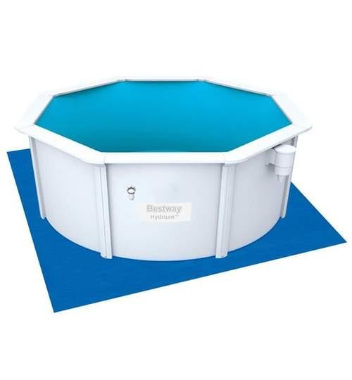 Covoras suport protectie pentru piscina, dimensiuni 335x335cm