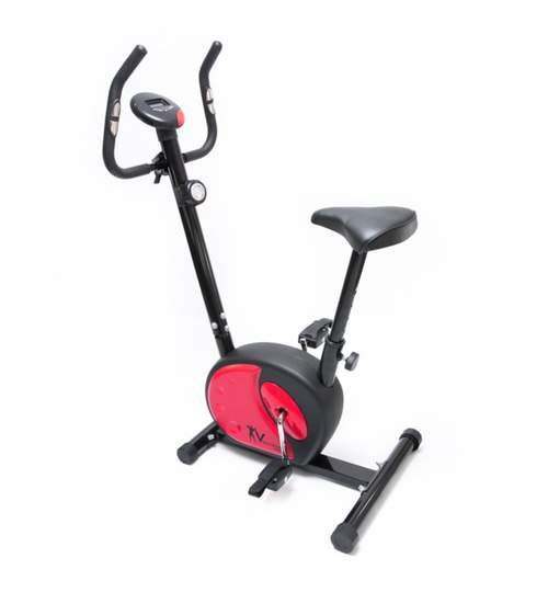 Bicicleta pentru Fitness Reglabila cu Afisare LCD Diferite Valori si Actionare Magnetica, Capacitate 120kg