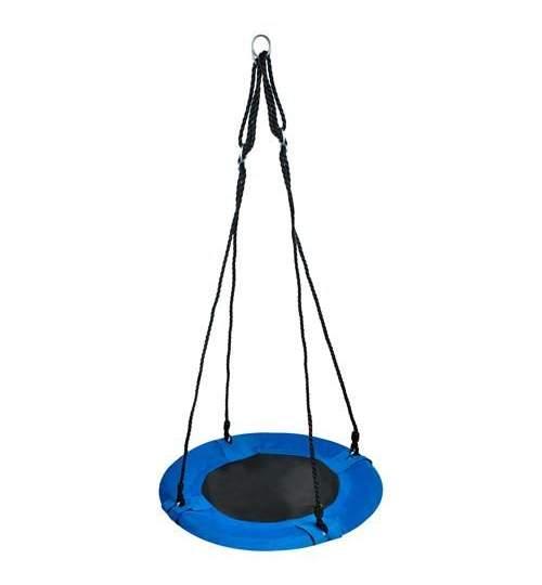 Leagan Balansoar rotund tip cuib pentru curte, gradina sau terasa, capacitate maxima 75kg, diametru 60cm