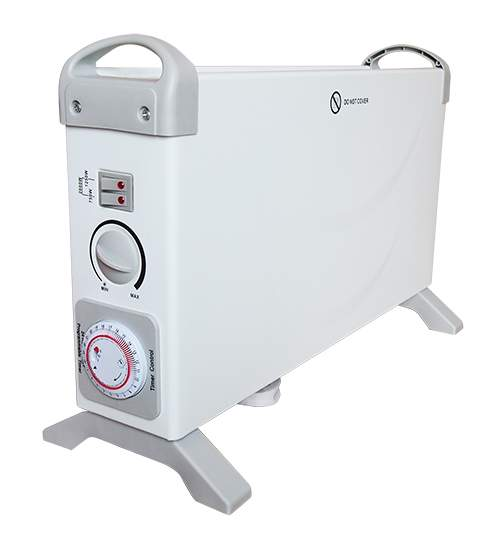 Radiator Calorifer Electric Mesko 2000W, Convector pentru Incalzire Portabil cu 3 Trepte, Reglaj Temperatura, Timer