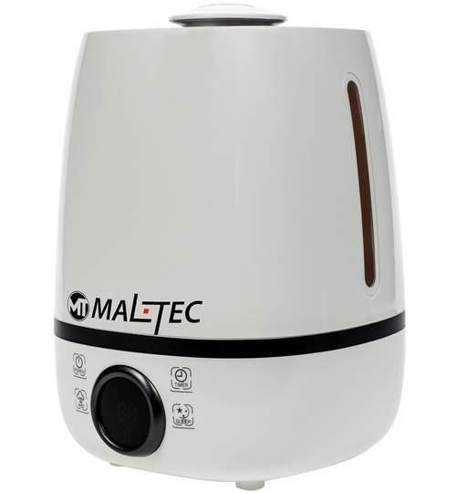 Umidificator de Aer pentru Camera 25mp cu Ultrasunete si Aromaterapie, Randament 300ml/h, Afisaj LCD, Functie Sleep, Capacitate Rezervor 4,6L