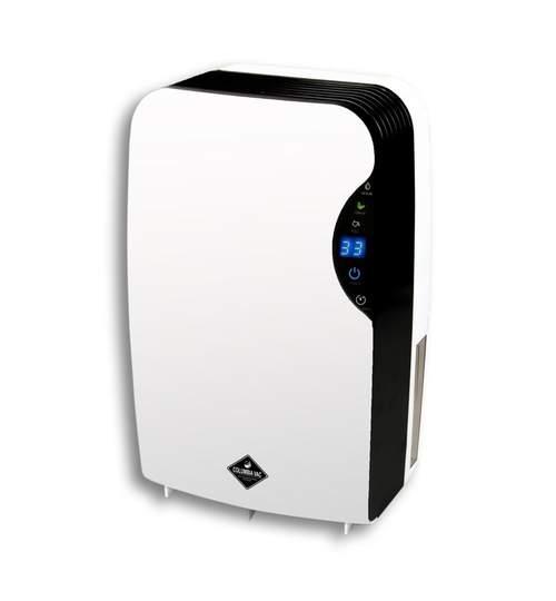 Dezumidificator de Aer cu Functie de Ionizare pentru Camera 25mp, Afisaj LED, Rezervor 2.5L,  Putere 65W