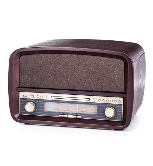Gramofon Player Camry Retro cu Radio, Pick-Up, CD-Player, USB, Functie de Inregistrare si Telecomanda
