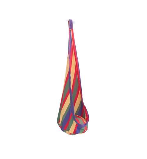 Hamac tip Cocon Suspendat pentru Curte sau Gradina, Capacitate 160kg, Inaltime 150cm