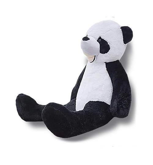 Ursulet Panda de Plus Mare, Inaltime 100cm, Culoare Negru/Alb